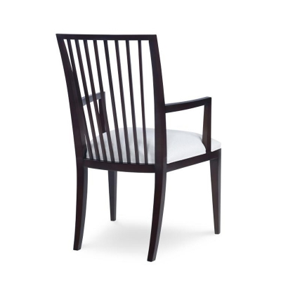 Century Stocked Leatrice Arm Chair