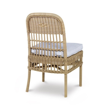 Century Mainland Wicker Dining Side Chair