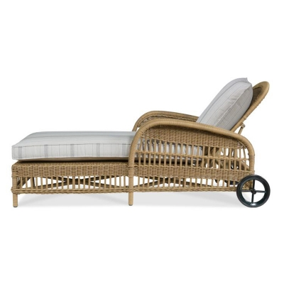 Century Mainland Wicker Articulating Chaise