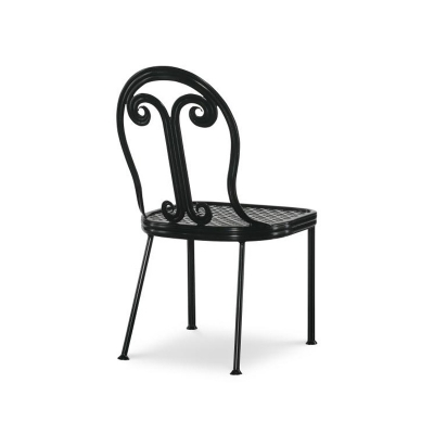 Century Augustine Metal Dining Side Chair
