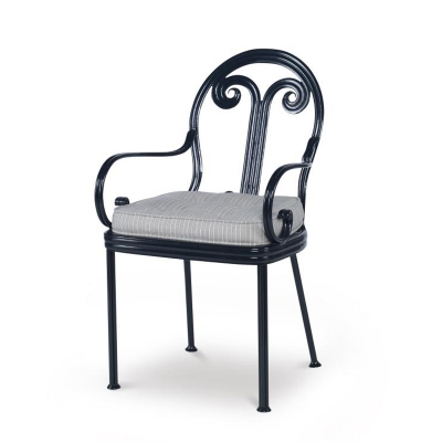 Century Augustine Dining Arm Chair Seat Pad