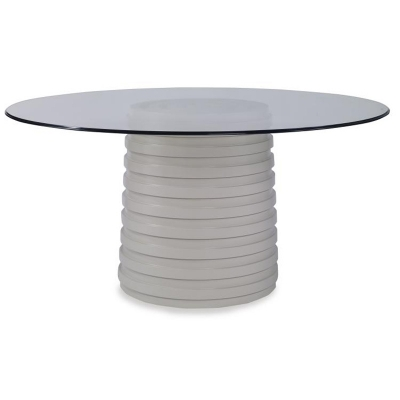 Century Dining Table Base For Glass Tops