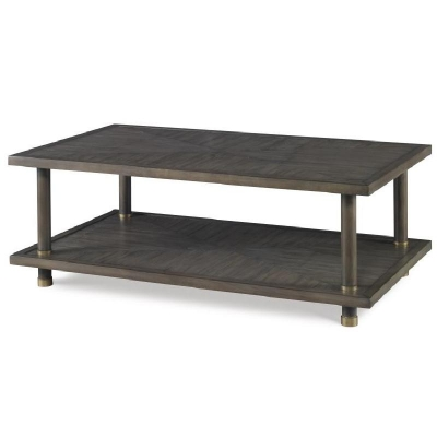 Century Biscayne Cocktail Table Mink Grey