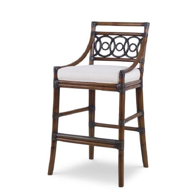 Century Circles Bar Stool Flax