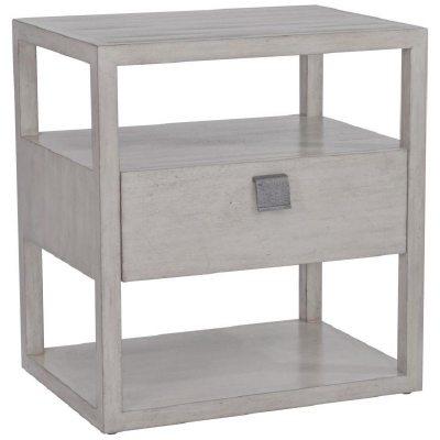 Century New Haven One Drawer Nightstand Mink Grey