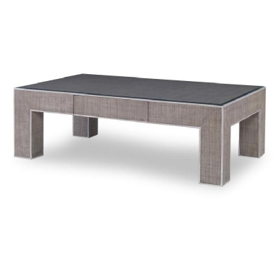 Century Newport 1 Drawer Coffee Table French Grey Peninsula