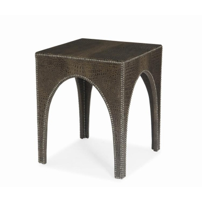 Century Fully Upholstered Lamp Table