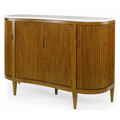 Century Facets Cabinet with Stone Top