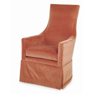 Century Charlottesville Skirted Wing Chair