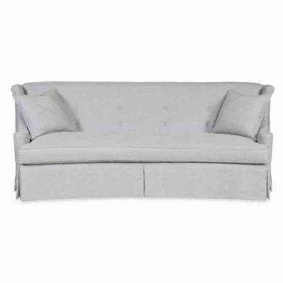Century Odette Skirted Sofa