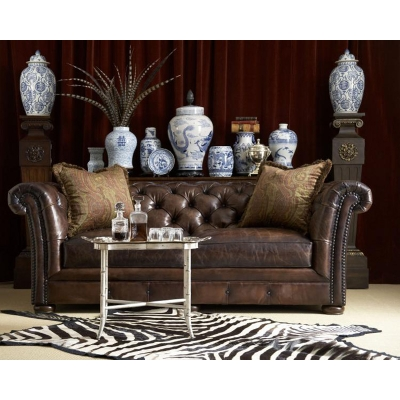 Century Dans Chesterfield Large Sofa
