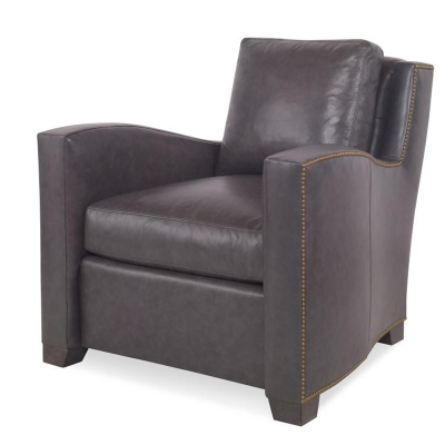 Century Zeke Leather Lounge Chair