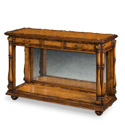 Century Marquetry Viceroys Console Table