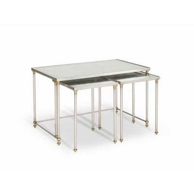 Century Shelby Nesting Cocktail Tables Set Of Three