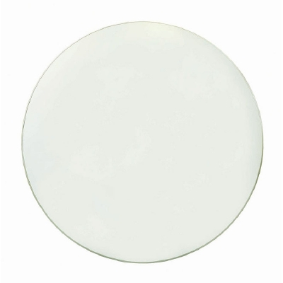 Century 48 inch Round half inch Tempered Glass Top With Flat Edge