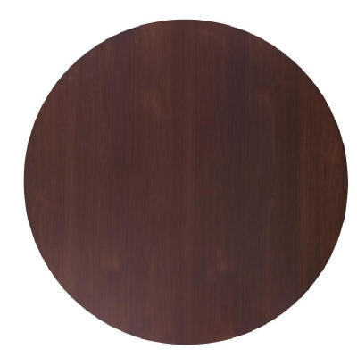 Century Round Wood Dining Table Top 61 inch 65 inch