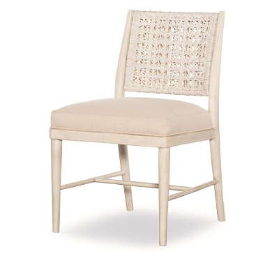 Century Naples Side Chair Peninsula Flax