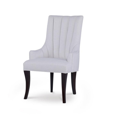 Century Becca Channeled Arm Chair