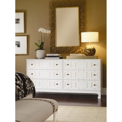Century Six Drawer Chest