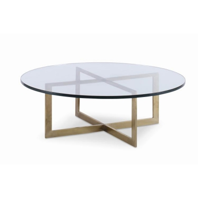 Century Nest Cocktail Table With Glass Top