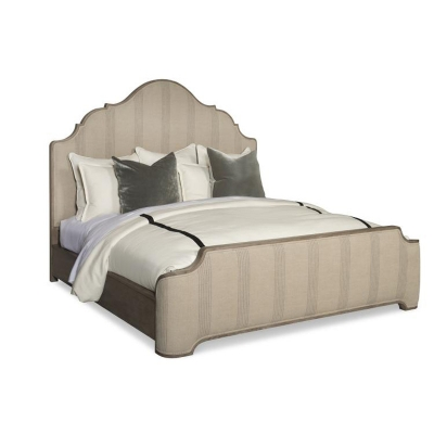 Century Upholstered Bed King