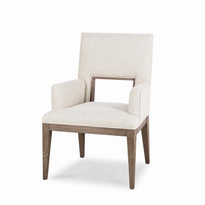Century Upholstered Dining Arm Chair
