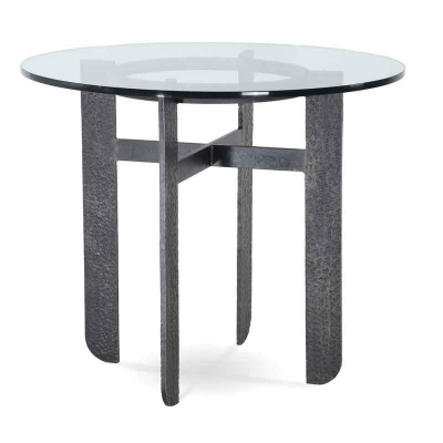 Charleston Forge Round Bar Height Table