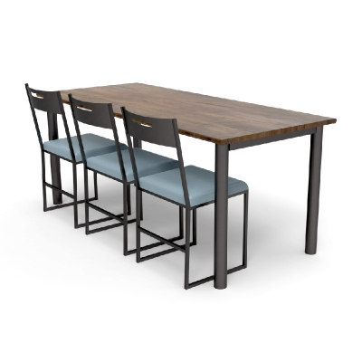 Charleston Forge Counter Height Community Table (Power)