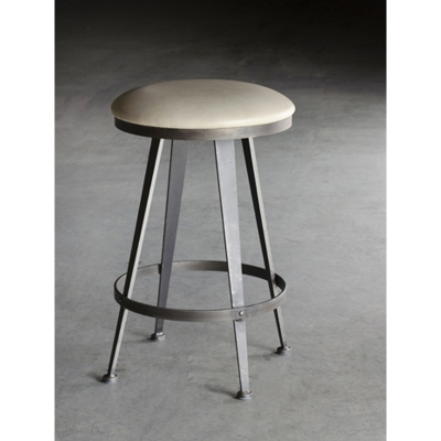 Charleston Forge Backless Swivel Counterstool 26 inch