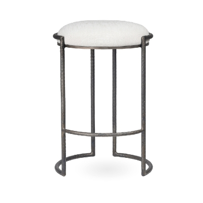 Charleston Forge Backless Barstool