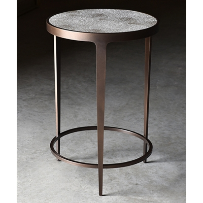 Charleston Forge Drink Table with Shagreen Top