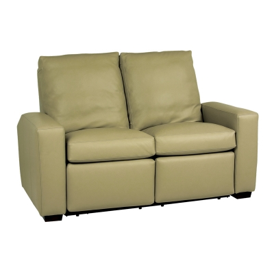 Classic Leather Reclining Loveseat