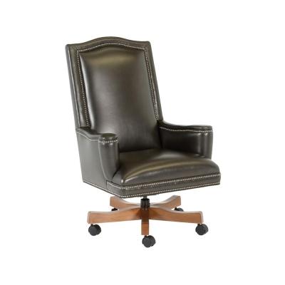 Classic Leather Addison Swivel Tilt Chair