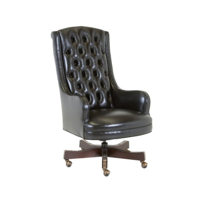 Classic Leather Justice Swivel Tilt Chair