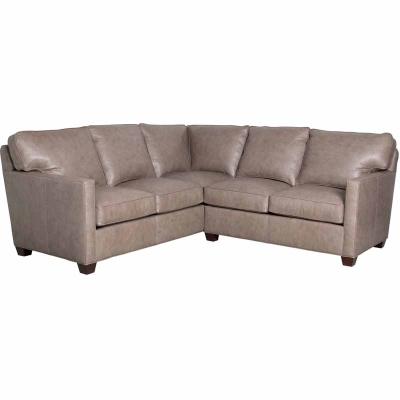 Classic Leather Sectional LAF Corner Sofa