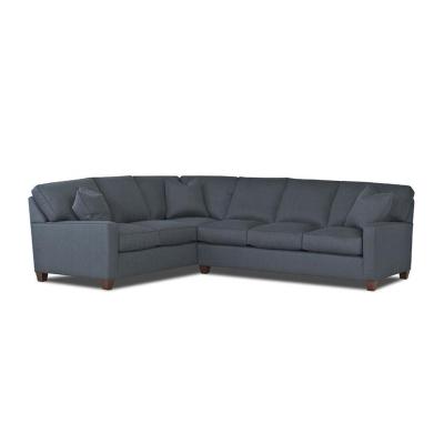 Comfort Design Fabric Sleeper Sectional