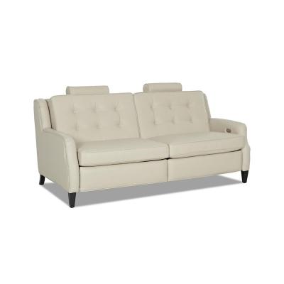 Comfort Design Leather Reclining Sofa