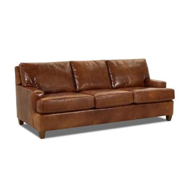 Comfort Design Leather Sleeper Sofa