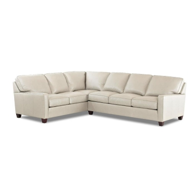 Comfort Design Leather Sectional