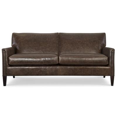 CR Laine Leather Apt Sofa