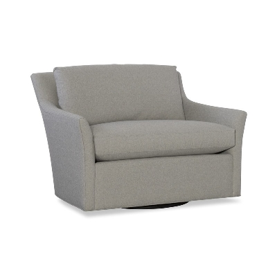 CR Laine Chair-and-a-Half Swivel