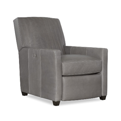CR Laine Leather Channel Back Power Recliner