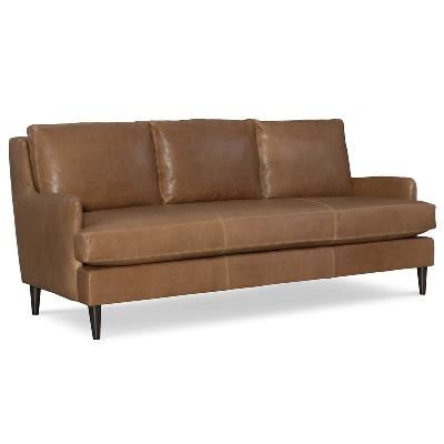 CR Laine Leather Sofa