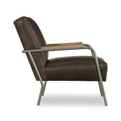 CR Laine Metal Chair in Light Pewter