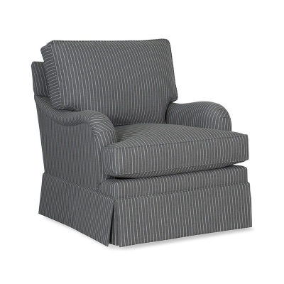 CR Laine English Arm Swivel Chair