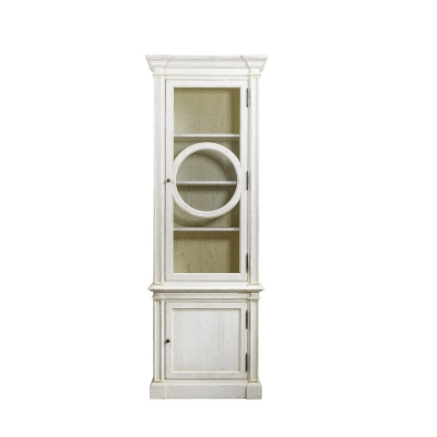 Curations Limited O Style Vintage White Cabinet