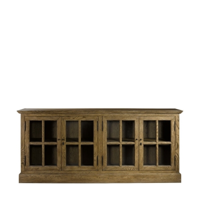 Curations Limited Large Media Cabinet