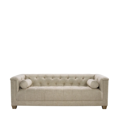 Curations Limited Linen Sofa