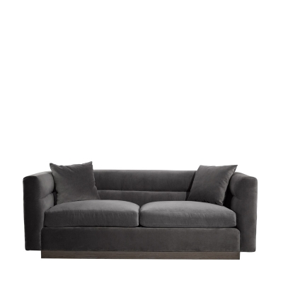Curations Limited Velvet Sofa