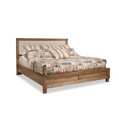 Durham King Upholstered Panel Bed